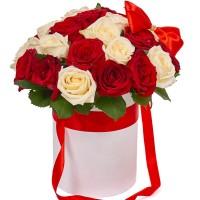 Цветы в коробке N9