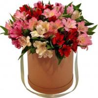Цветы в коробке Счастье