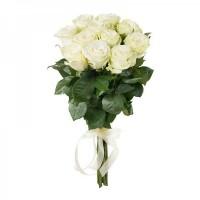 11 белых роз (Эквадор)